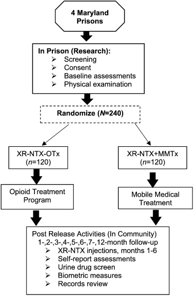 Extended-release naltrexone for pre-release prisoners: A