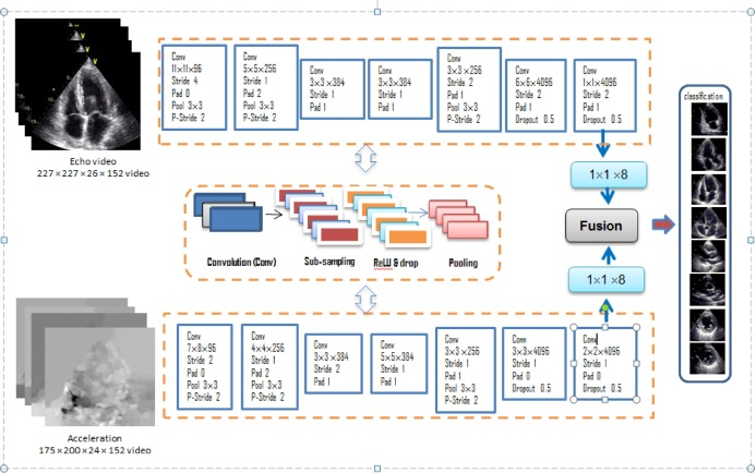 A fused deep learning architecture for viewpoint classification of