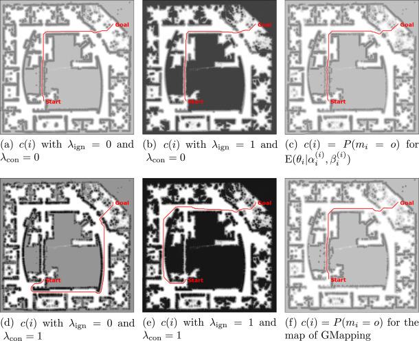 β-SLAM: Simultaneous localization and grid mapping with beta
