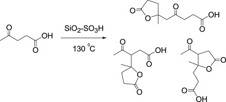 Solid Acid Catalyzed Aldol Dimerization Of Levulinic Acid