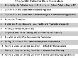 Development and evaluation of a palliative care curriculum