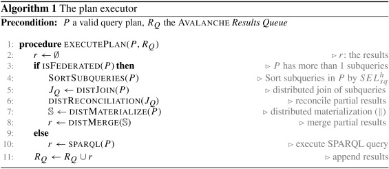Querying a messy web of data with Avalanche - ScienceDirect