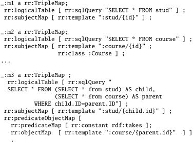 Efficient SPARQL-to-SQL with R2RML mappings - ScienceDirect