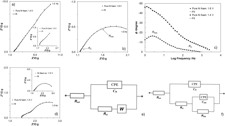 Kinetics Of Oxygen Evolution Reaction On Nickel Foam And Platinum