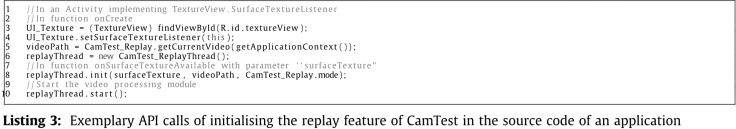 CamTest: A laboratory testbed for camera-based mobile sensing