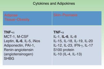 tnf alfa obesidad diabetes relación