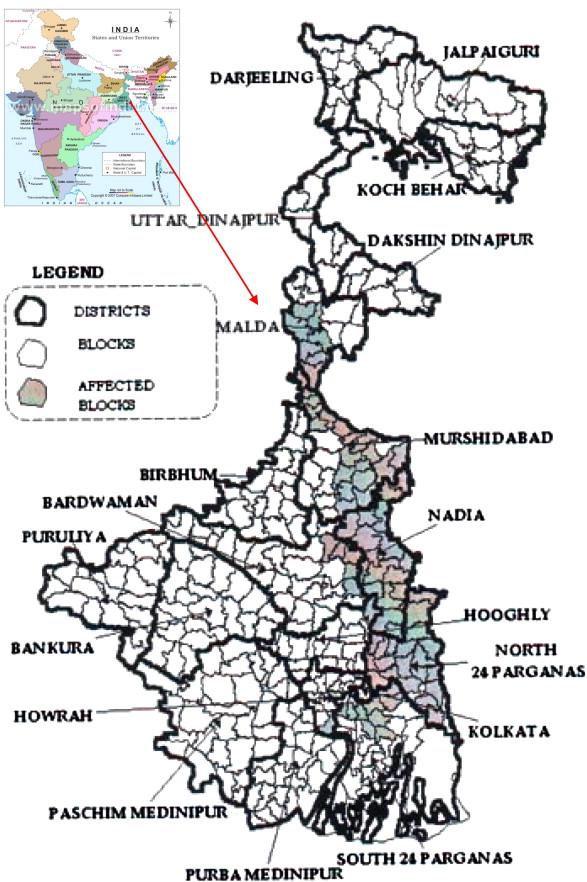 Chronic arsenic toxicity: Studies in West Bengal, India - ScienceDirect