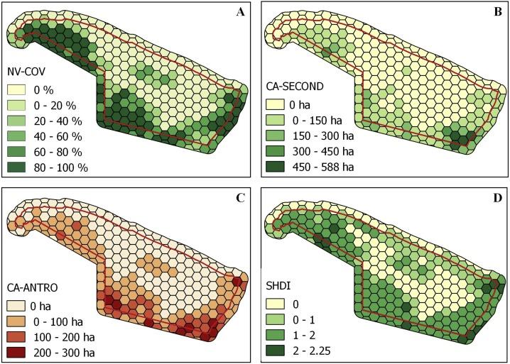 Landscape structural analysis of the Lençóis Maranhenses National