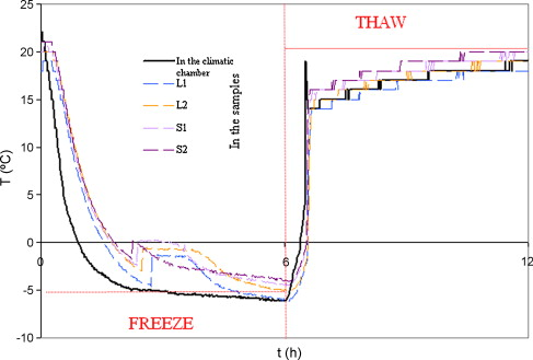 Microstructural weathering of sedimentary rocks by freezethaw freezethaw cycle in the climatic chamber and within different samples ccuart Choice Image