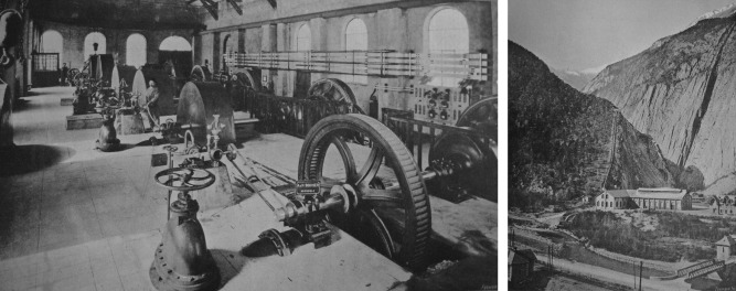 From the water wheel to turbines and hydroelectricity  Technological
