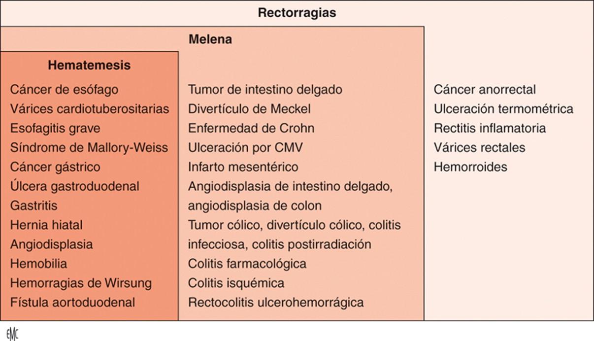 Varices anorrectales, hemorroides y síntomas de hipertensión portal
