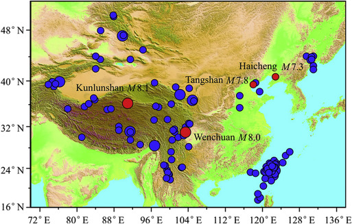 Studies on earthquake precursors in china a review for recent 50 fig gumiabroncs Gallery