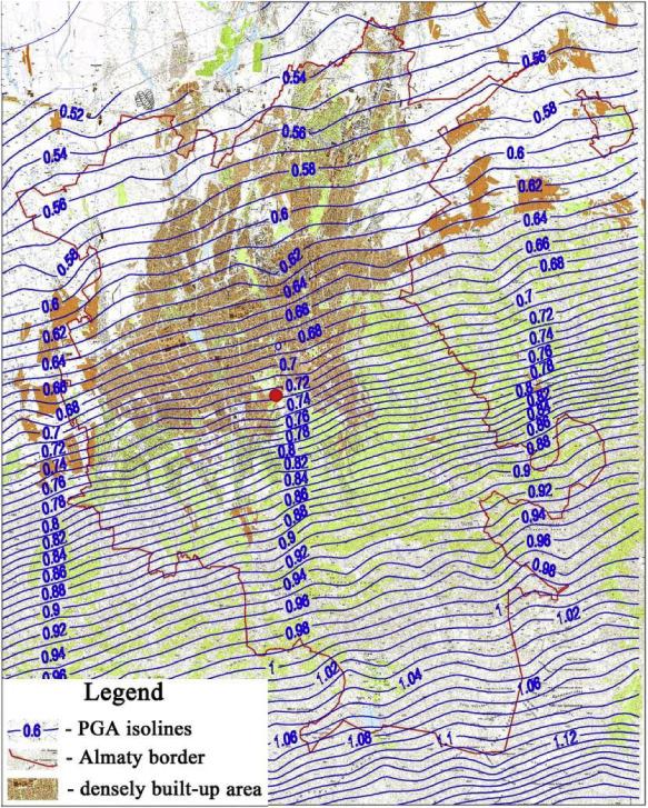 Probabilistic seismic hazard assessment of Kazakhstan and Almaty