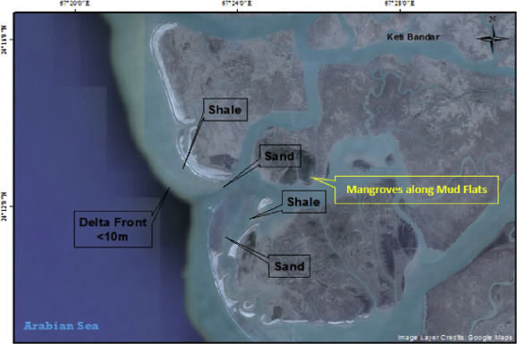 Morphological features of continental shelf margin: Examples from