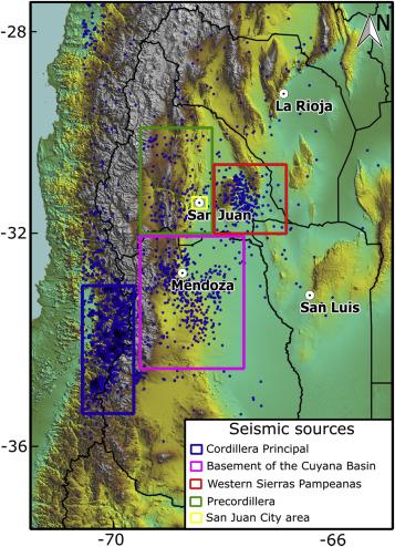 Seismic hazard analysis for central-western Argentina - ScienceDirect