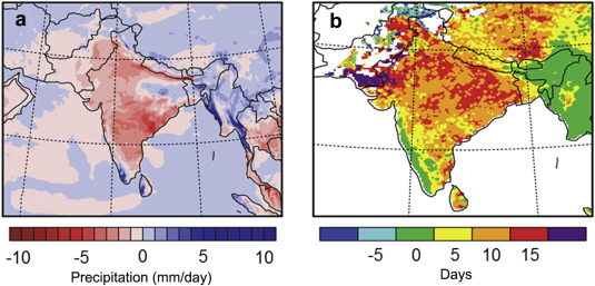Effect of climate change on seasonal monsoon in Asia and its