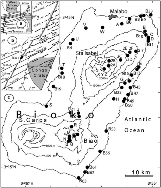 Geochemistry Of The Volcanic Rocks From Bioko Island Cameroon Hot