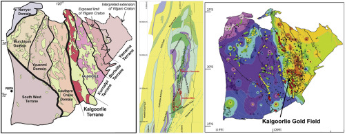 The giant Kalgoorlie Gold Field revisited ScienceDirect