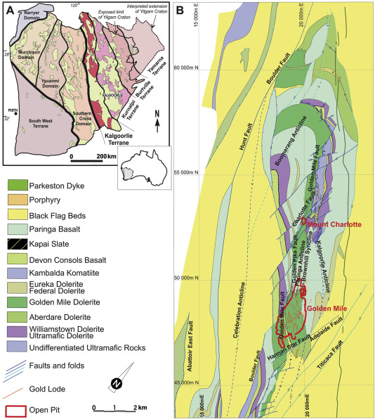 The giant Kalgoorlie Gold Field revisited ScienceDirect