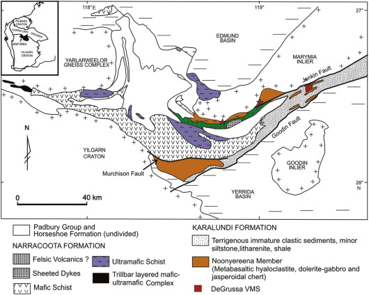 Besshi-type mineral systems in the Palaeoproterozoic Bryah