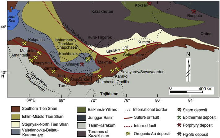 The Muruntau gold deposit (Uzbekistan) – A unique ancient ...
