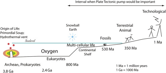 Simple Plate Tectonics Diagram