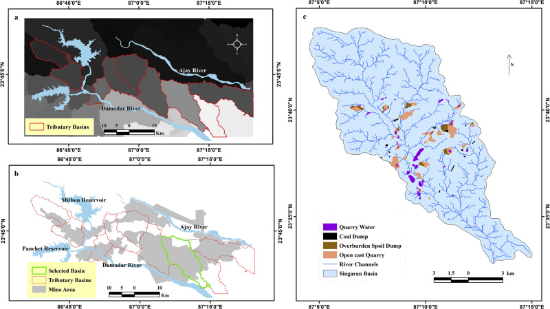Geochemical contamination in the mine affected soil of Raniganj