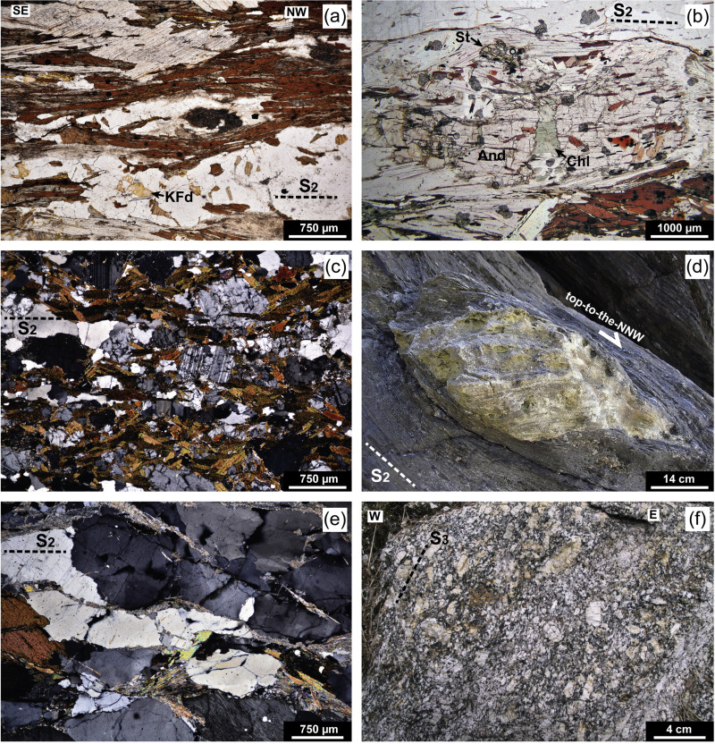 Re Folded Structure Of Syn Orogenic Granitoids Padron Dome Nw Iberia Assessing Rheological Evolution Of Cooling Continental Crust In A Collisional Setting Sciencedirect