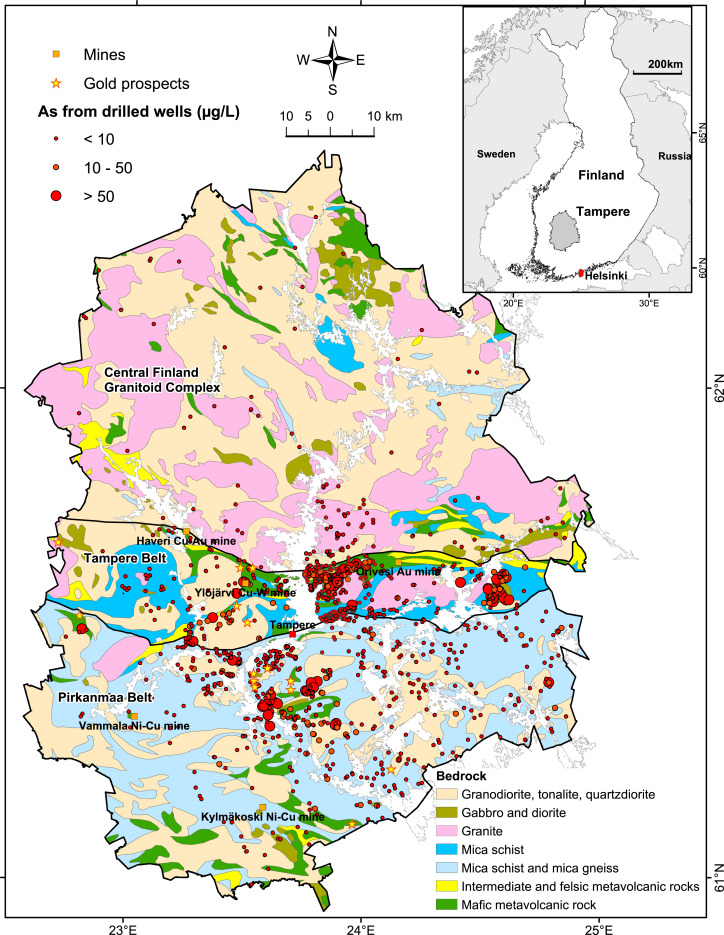 A Geologically Based Approach To Map Arsenic Risk In Crystalline