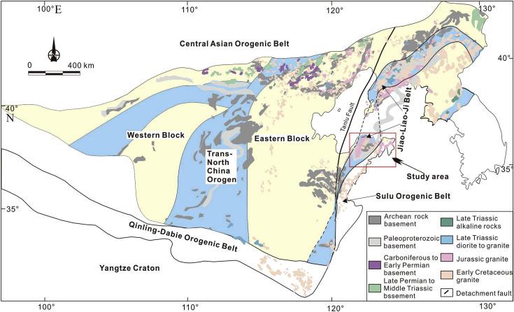 Late Mesozoic Magmatism In The Jiaodong Peninsula East China