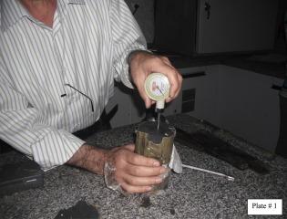 hand penetrometer readings