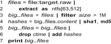 Nugget: A digital forensics language - ScienceDirect