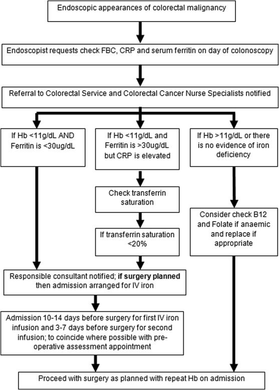 Correction Of Iron Deficiency Anaemia In Colorectal Surgery Reduces Perioperative Transfusion Rates A Before And After Study Sciencedirect