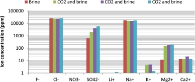 Short-term effects of impurities in the CO2 stream injected