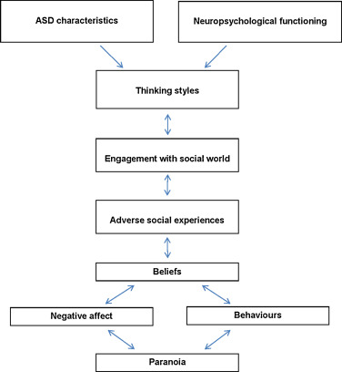 Conceptualising paranoia in ASD: A systematic review and