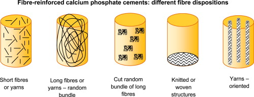 Fibre-reinforced calcium phosphate cements: A review