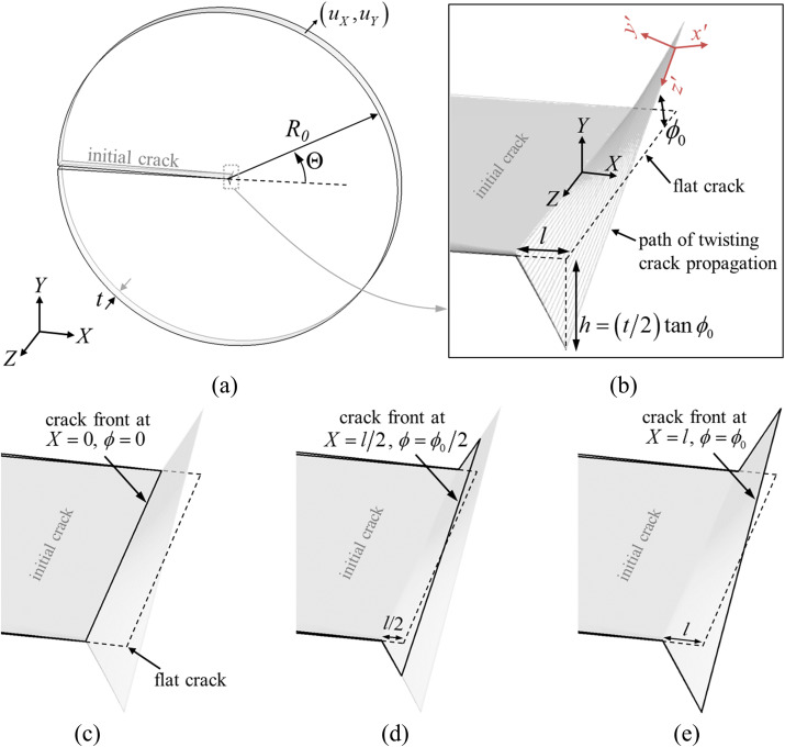 Twisting cracks in Bouligand structures - ScienceDirect