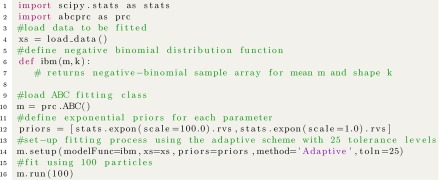 Kernel-density estimation and approximate Bayesian