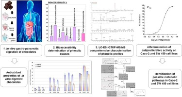 Bioaccessibility Bioactivity And Cell Metabolism Of Dark Chocolate Phenolic Compounds After In Vitro Gastro Intestinal Digestion Sciencedirect