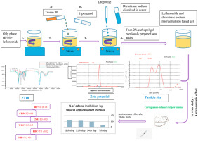 Formulation And Characterization Of Leflunomide Diclofenac Sodium Microemulsion Base Gel For The Transdermal Treatment Of Inflammatory Joint Diseases Sciencedirect