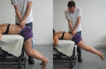 prone instability test for low back instability in swimmers