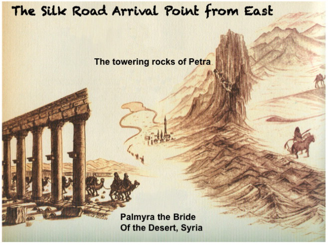 The Silk Road, Marco Polo, a bible and its proteome: A