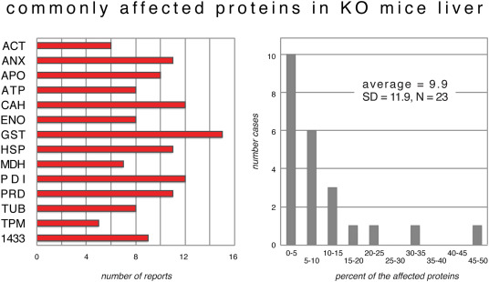 What if? Mouse proteomics after gene inactivation