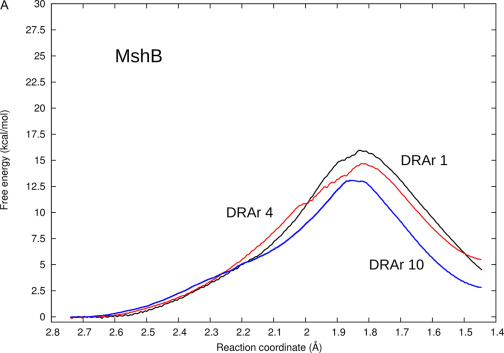 Efficient Calculation Of Enzyme Reaction Free Energy Profiles Using