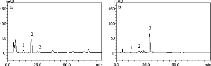 Phytochemical characterization by hplc and evaluation of a representative high performance liquid chromatography profile of chloroform ccuart Images