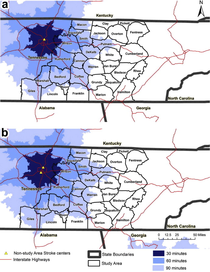Temporal changes in geographic disparities in access to emergency ...