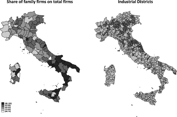 Family firms and industrial districts:: Evidence from the ... on economic map of italy, landscape map of italy, label map of italy, seismic map of italy, geographical map of italy, decorative map of italy, geological map of italy, artistic map of italy, agricultural map of italy, agriculture map of italy, road map of italy, travel map of italy, aerial map of italy, culinary map of italy, natural resource map of italy, religious map of italy, country map of italy, transportation map of italy, regional map of italy, railroad map of italy,