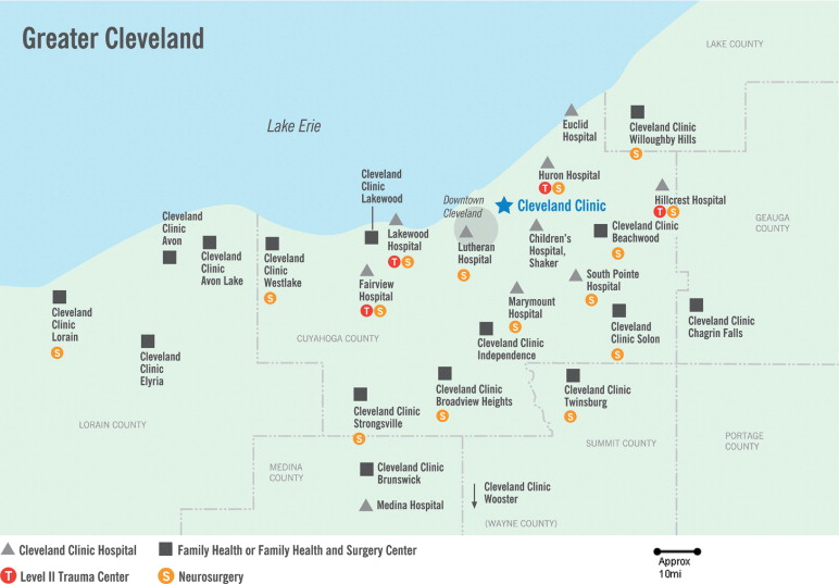Great Hospitals of North America: Cleveland Clinic