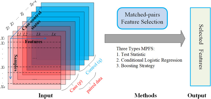 A Review of Matched-pairs Feature Selection Methods for Gene Expression Data Analysis