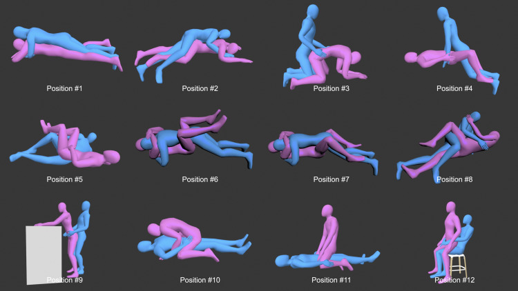 Arousal position sexual